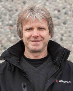 Foto på Björn Skribeland